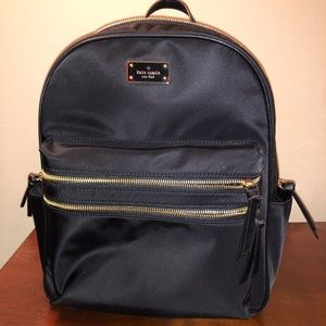 Kate Spade Large Bradley Black Backpack